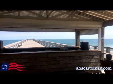 Rolldown Hurricane Shutters at Oceanic Restaurant