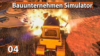 BAUUNTERNEHMEN SIMULATOR 🏗️ Die UFO Bar platt machen ► #4 Demolish And Build 2018 deutsch