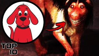Top 10 Scary Cliḟford the Big Red Dog Urban Legends - Part 3