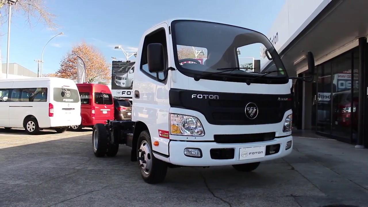 Foton Aumark Light Duty Truck Informational Video Youtube
