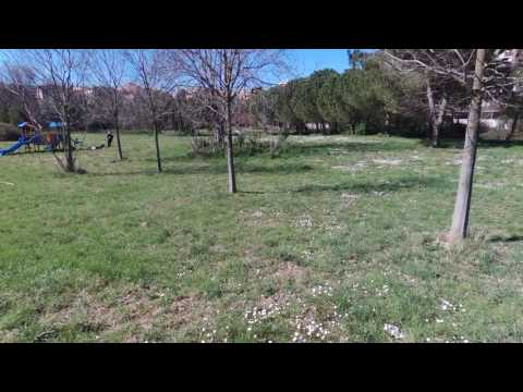Valle aniene dall'alto di un drone -  roma