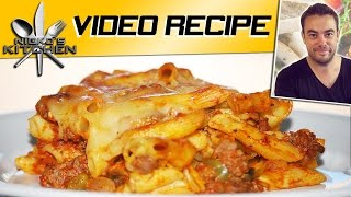 Cheesy Pasta Bake - Video Recipe