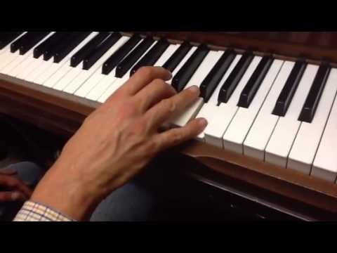 Separate Ways piano tutorial 2