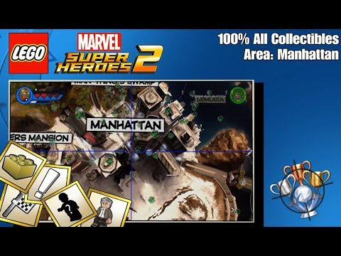 LEGO Marvel Super Heroes 2 - 100% All Collectibles - Manhattan