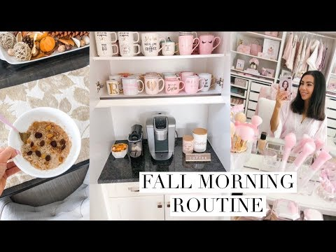 fall-morning-routine!🍂