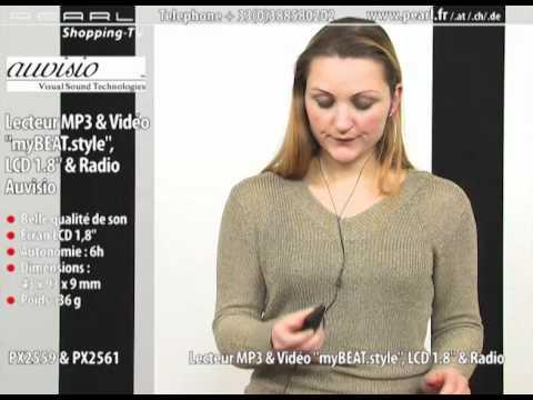 LECTEUR MP3 & VIDÉO ''BEAT.STYLE'' - 4 Go
