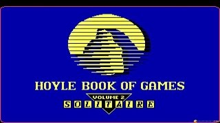 Hoyle Official Book of Games Volume 2: Solitaire gameplay (PC Game, 1990)