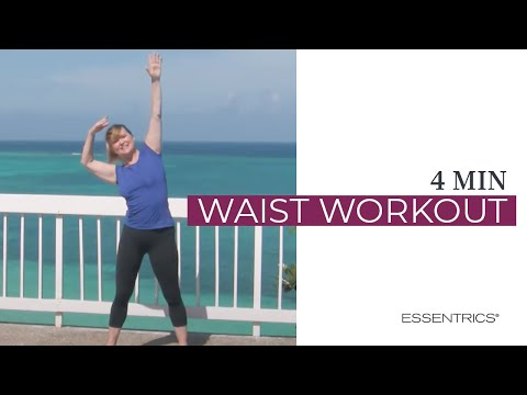 Essentrics mini workout to slenderize waist
