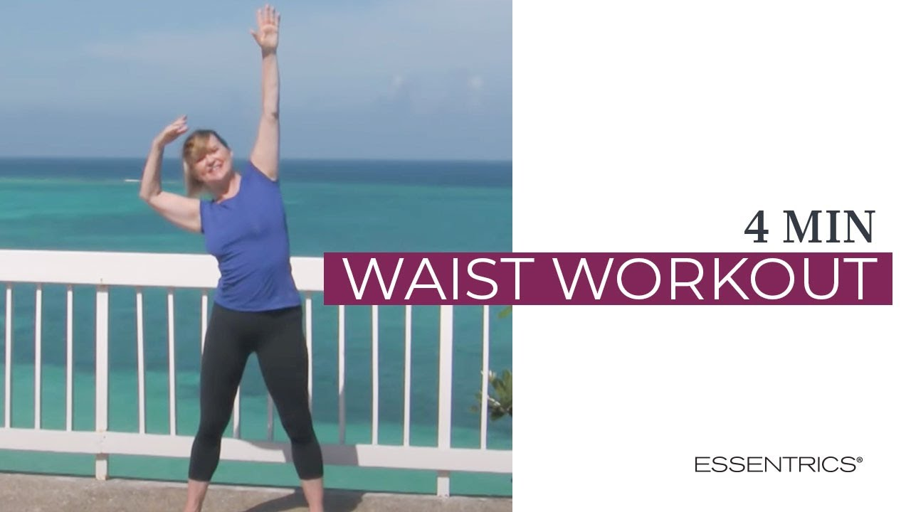 Essentrics Mini Workout To Slenderize Waist Youtube
