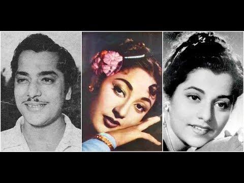 Aa Nile Gagan Tale Pyaar Ham Karen Hemant Kumar, Lata Mangeshkar Badshah (1954) Shankar Jaikishan