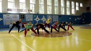 Выступление команды из Липецка на XIII Международном Открытом Турнир по Йоге в Липецке.
