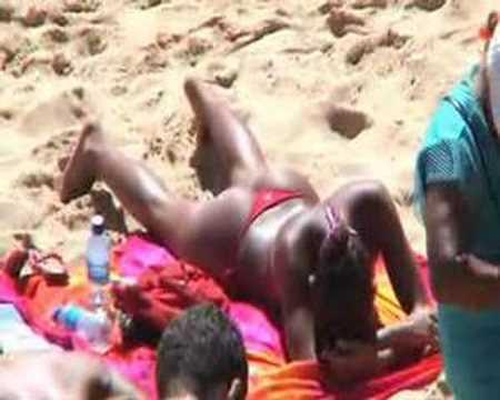 Salvador bahia brazil sunbathing bikinis