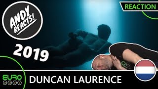 THE NETHERLANDS EUROVISION 2019 REACTION: Duncan Laurence - 'Arcade' | ANDY REACTS!