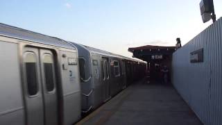 Astoria & Stillwell Ave Bound R160B-1 N Trains @ Broadway