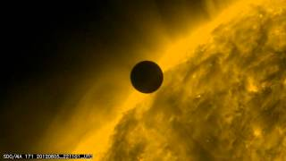 Venus Transit Close To The Sun June 5, 2012