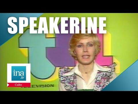 Speakerine 1976 Évelyne Dhéliat | Archive INA