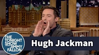 Hugh Jackman Went to Disney World as Pan's Blackbeard