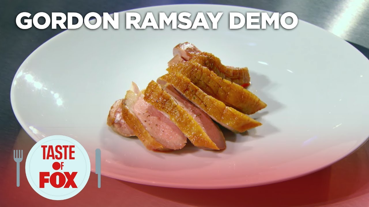 How to cook duck breasts gordon ramsay