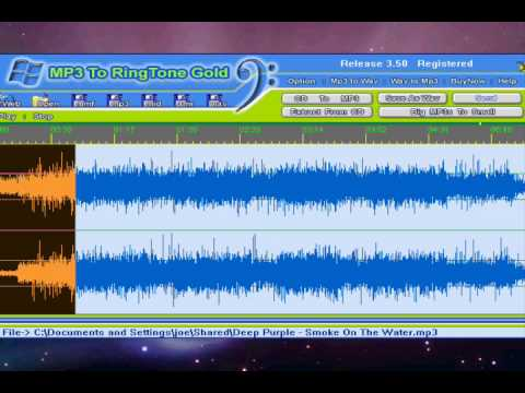 Re: Mp3 To Ringtone 3.50 Gold free registration