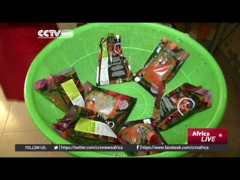 Nigerian entrepreneur's business thrives using local ingredients