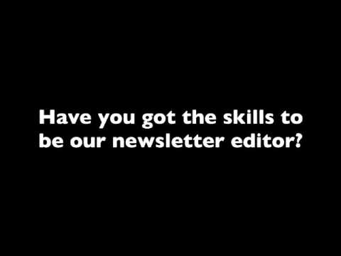 Newsletter Editor Wanted [Your Voice - Dec 2015]