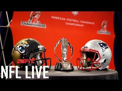 Picking the AFC Championship Game: Jaguars or Patriots? | NFL Live | ESPN