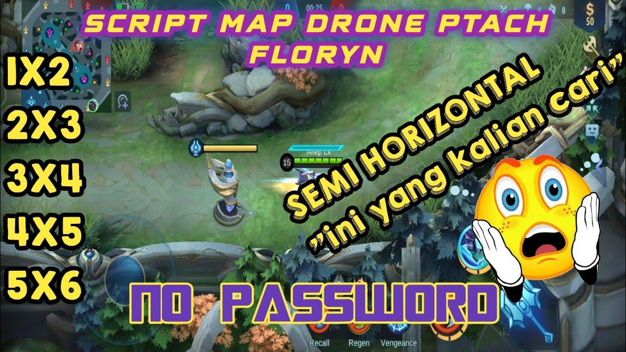 DRONE VIEW MOBILE LEGEND TERBARU SEMI HORIZONTAL PATCH FLORYN NO PASSWORD
