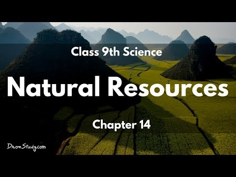 Natural Resources : CBSE Class 9 IX Science