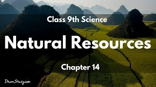Natural Resources : CBSE Class 9 IX Science thumbnail
