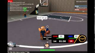 ROBLOX: Basketball comment lay-up [TUTORIAL]