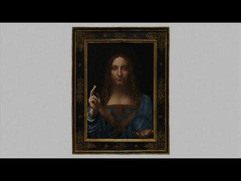 Painting By Leonardo da Vinci Sells For $450m