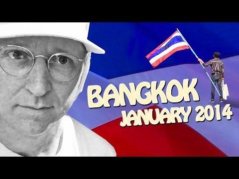 """Bangkok Protest """"Shutdown"""" - Hoffnung für Thailand - Reisebericht DOKU """"Final Countdown"""""""