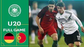 Germany vs. Portugal 1-0 | Full Game | U20 Friendly thumbnail