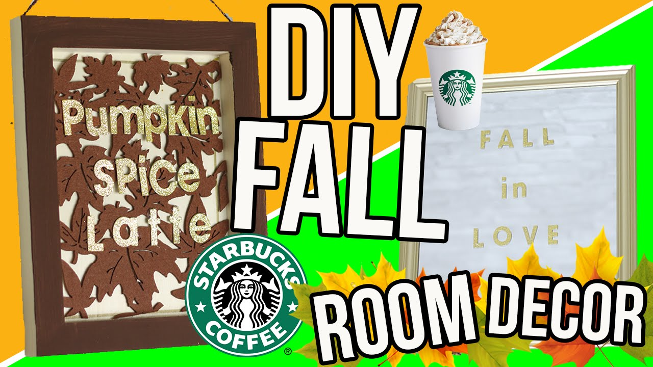 diy cozy fall room decor 2016 cheap easy room decorations for autumn tumblr inspired youtube. Black Bedroom Furniture Sets. Home Design Ideas