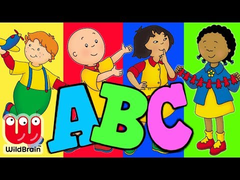 CAILLOU Learn ABC Alphabet Song Video | Learning For Baby Education | Toy Store - Toys For Kids