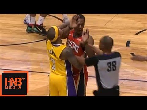 Rajon Rondo & Isaiah Thomas Skirmish / Both Ejected From The Game