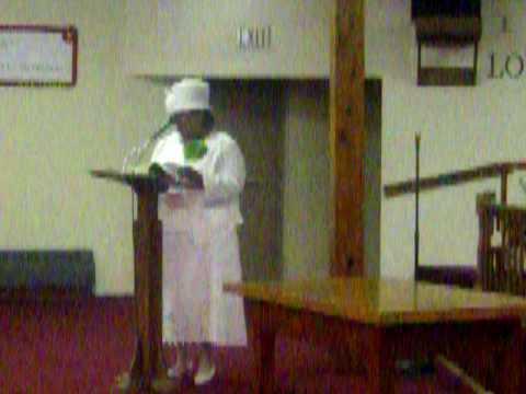 Refuge Women's Day Speaker 8/2/09 Part 1 of 3 not 4