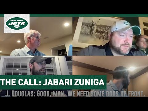 The Call: Jabari Zuniga Learns He's Being Drafted By The New York Jets | NFL Draft