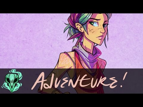 Adventure Girl! || Digital Character Design
