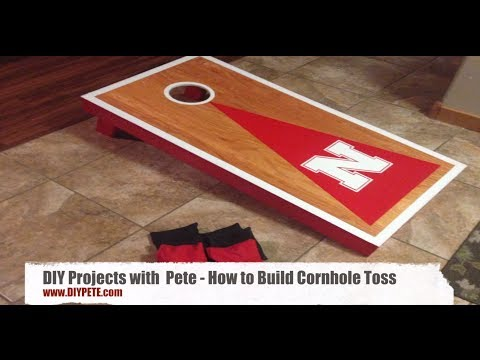 How to Build Cornhole Toss Boards - A Fun and Easy DIY Project - Episode 8