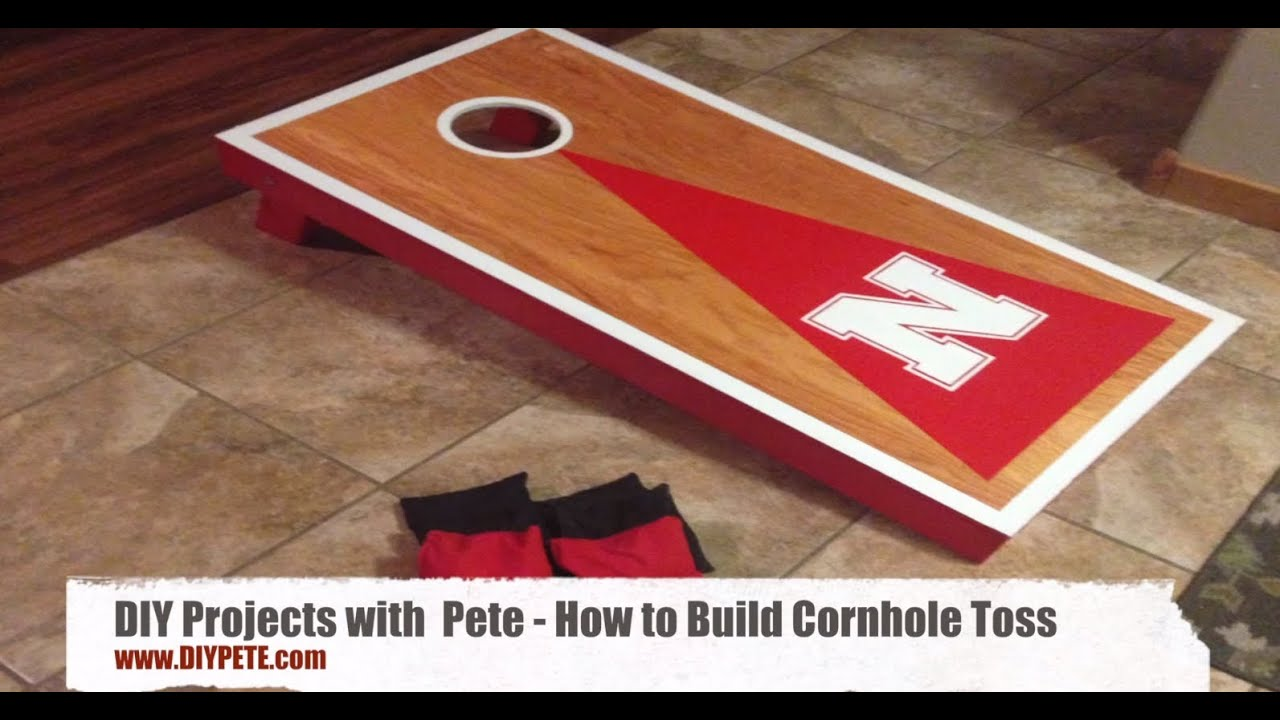How to build cornhole toss boards a fun and easy diy for How to build a project plan