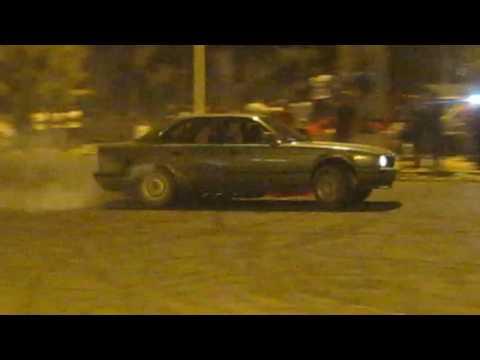 BMW drift in Tripoli ,Libya