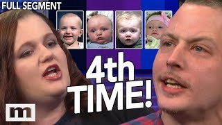 I'm back for the 4th time... This has to be my husband's baby! | The Maury Show
