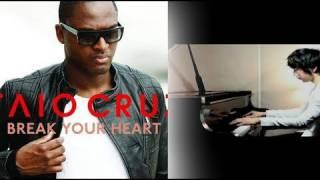 Break Your Heart - Taio Cruz ft. Ludacris (Yoonha Hwang Piano Cover) - Music Video with lyrics