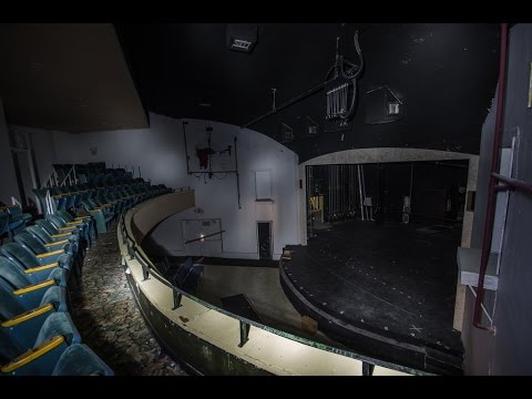 ABANDONED 1950s Hollywood, FL Playhouse and Theater