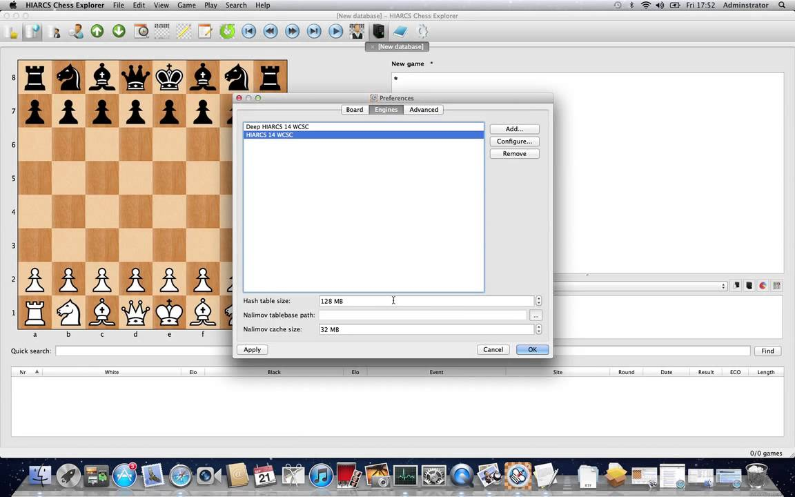Chess Apps for macOS and iOS
