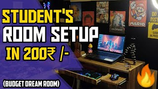 Cheapest Study Youtube Gaming Room For Students Room Decorating Ideas In Budget Room Tour 2 0 Youtube