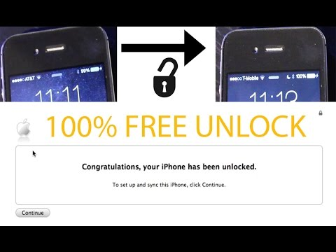 Tutorial: How To Factory Unlock AT&T iPhone Plus 7, 6s, 6, 5s, 5c, 5, 4s, 4, 3Gs, 3G For 100% FREE