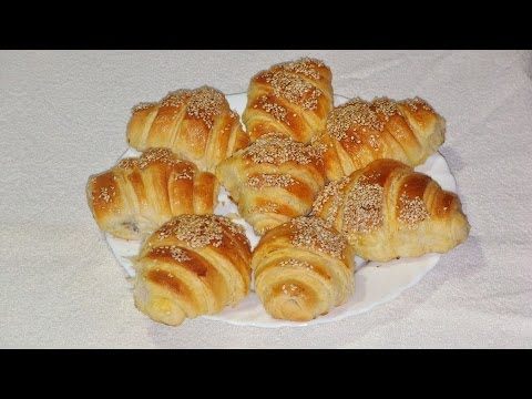 Kroasani recept / Croissant recipe [Eng Subs]