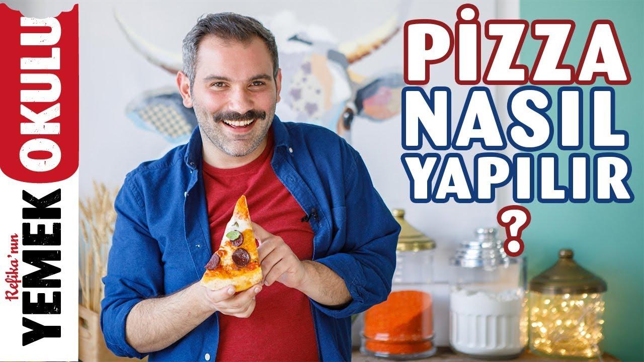 Pizza Tarifi | Ekşi Mayalı Pizza Hamuru Tarifi | Burak'ın Ekmek Teknesi